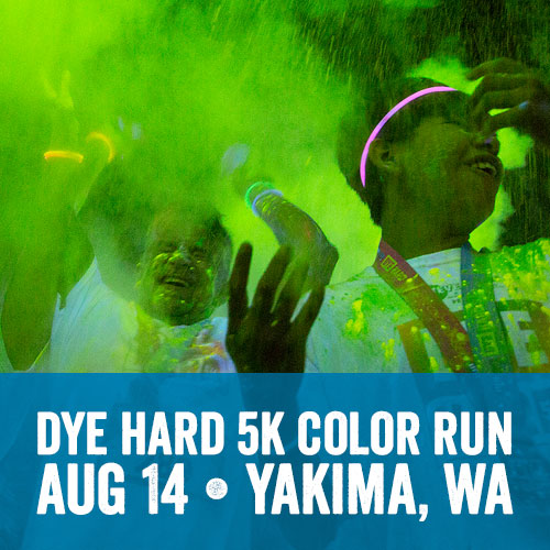Dye Hard 5k Nighttime Color Run