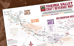 Yakima Valley Travel Maps